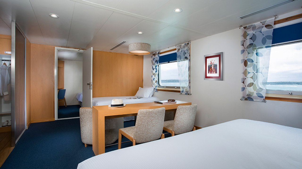 suite on santa cruz ship