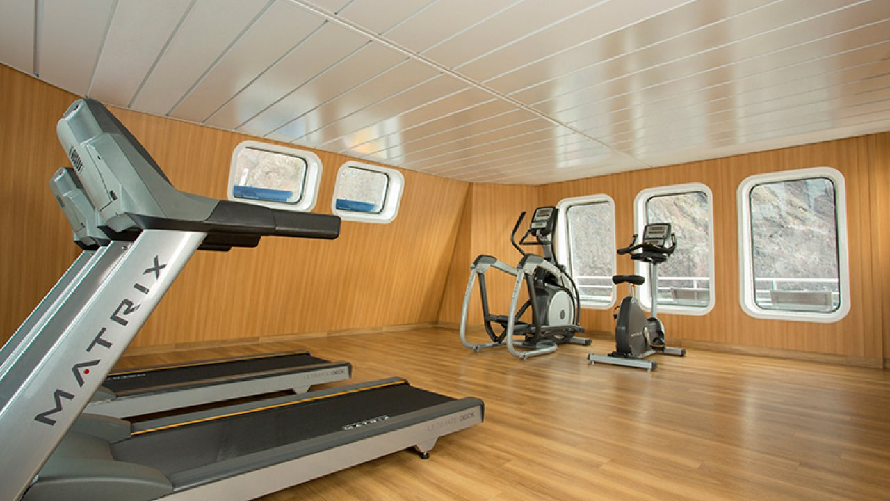 gym on santa cruz 2 ship