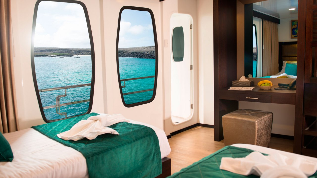 cabin on Alya catamaran