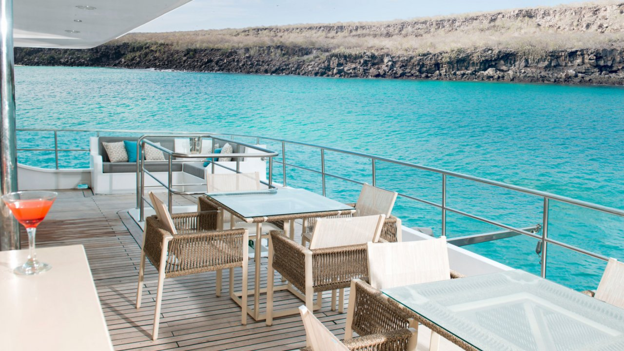 sundeck on Alya catamaran