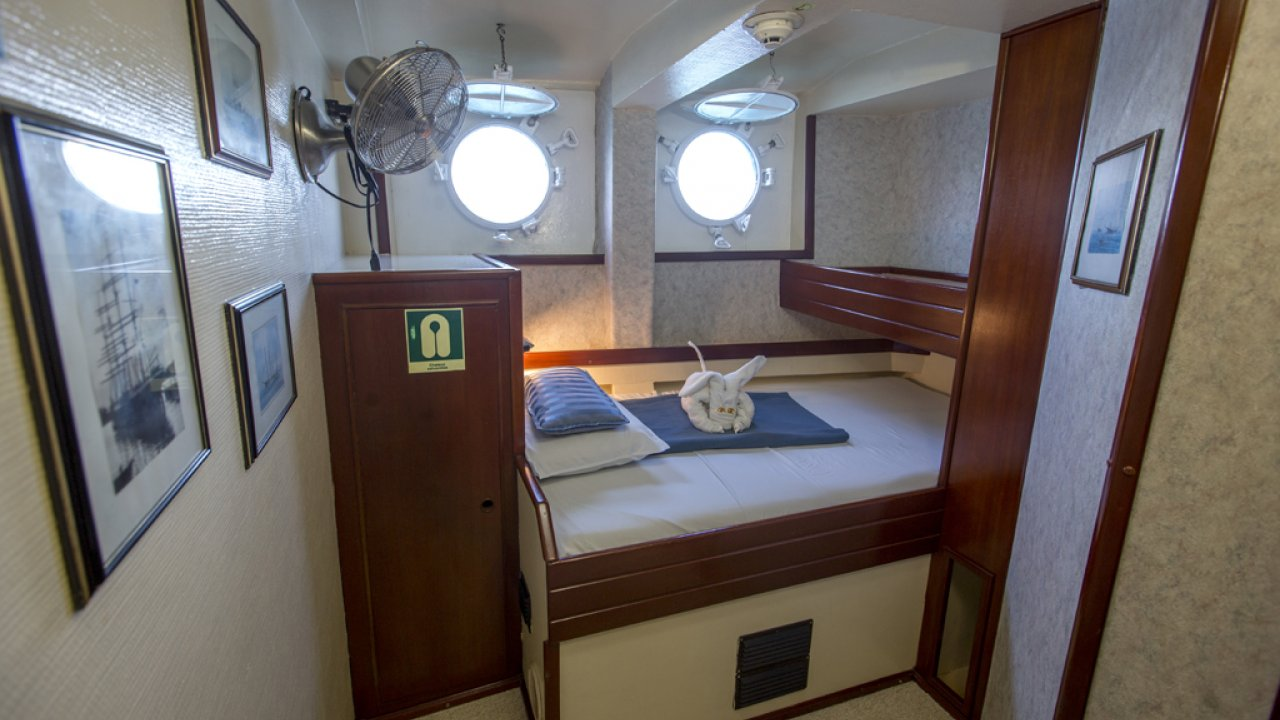 Mary Anne sailing accommodations