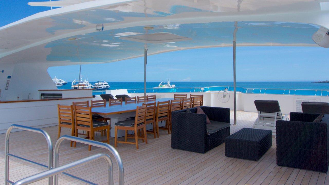 cormorant catamaran deck