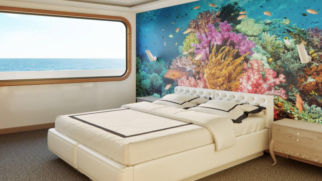 accommodations aboard the camila