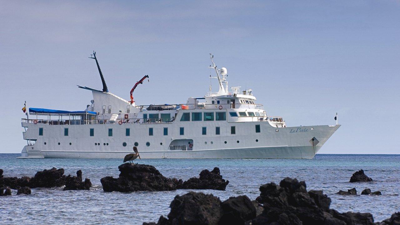 La Pinta Yacht Galapagos Islands