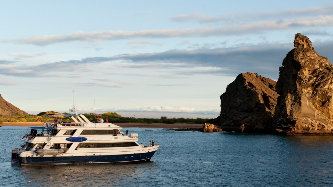 small ship cruise Galapagos
