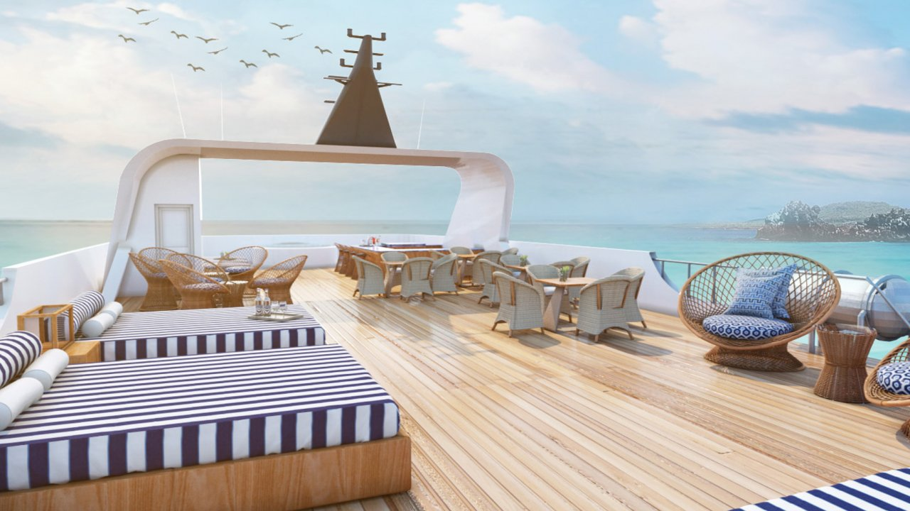 Relax on the MV Theory Sun Deck