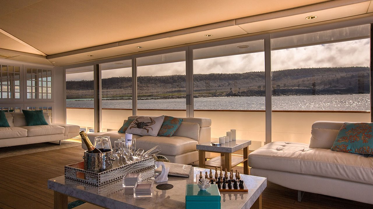 Sky Lounge on MY Passion Yacht