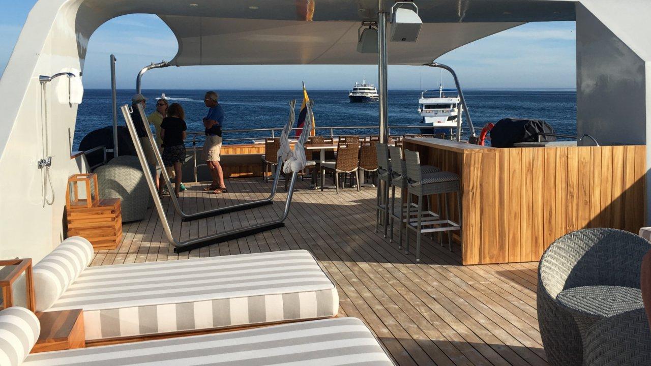 Sun deck on Origin