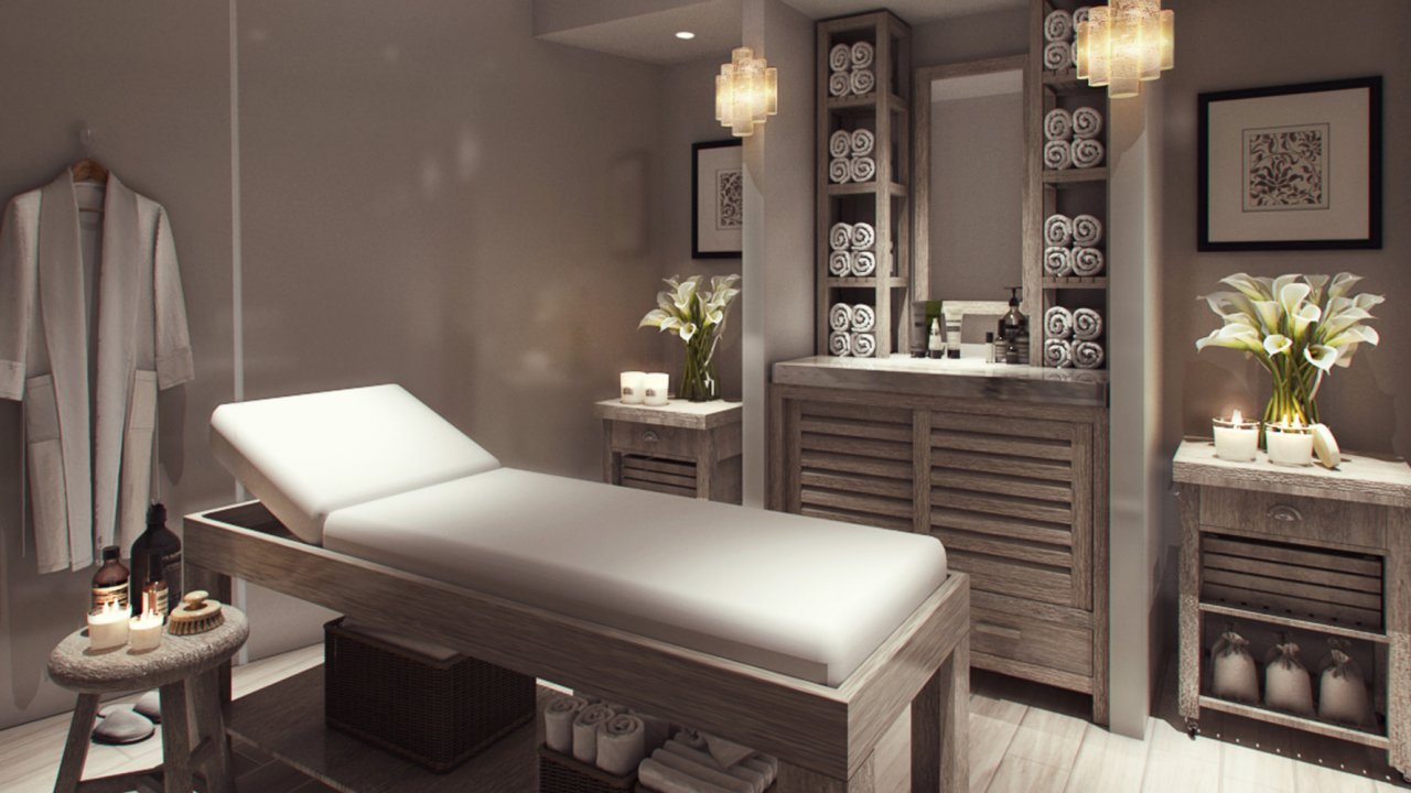 relaxing spa on luxury galapagos cruise
