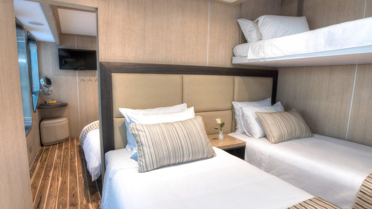 Origin Cruise Accommodations