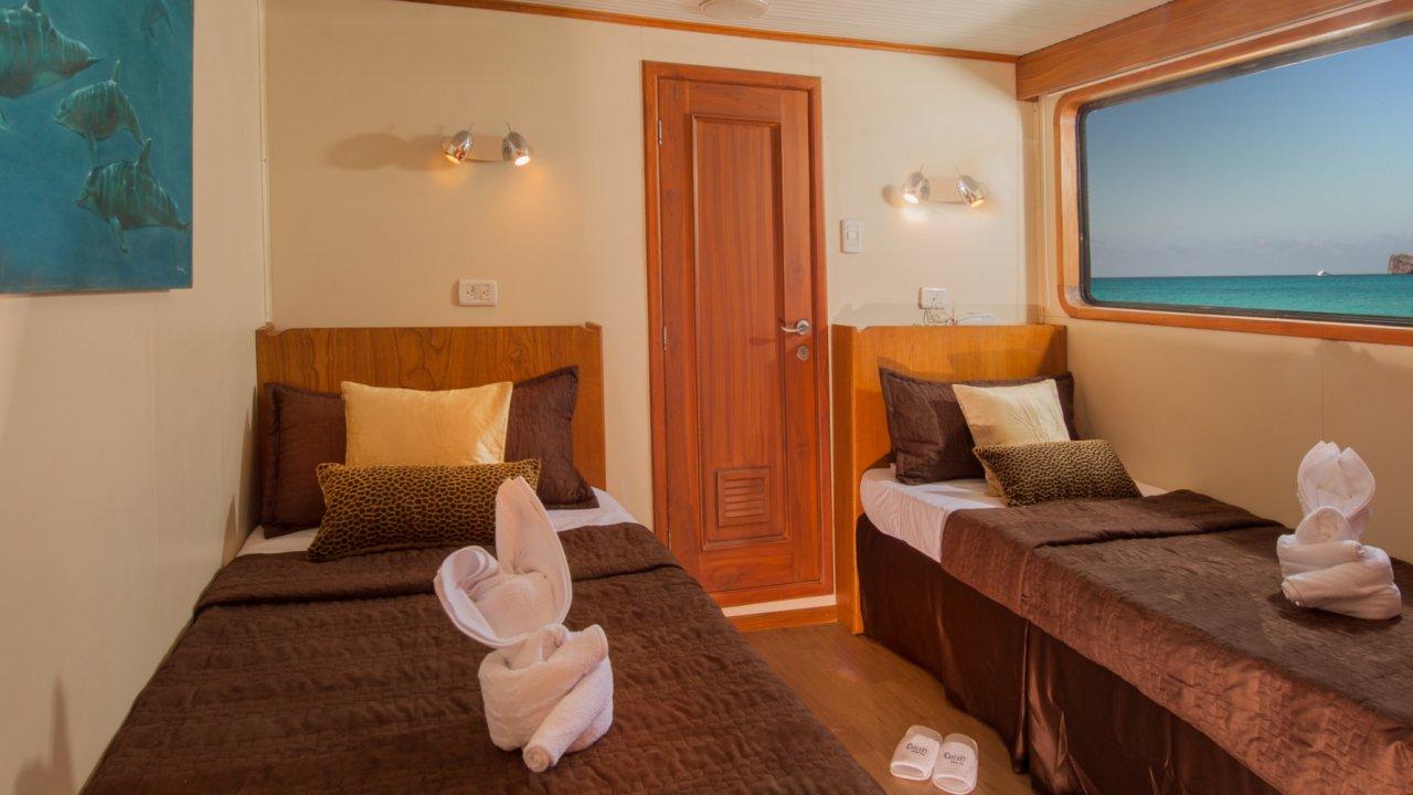 galaxy yacht cabin