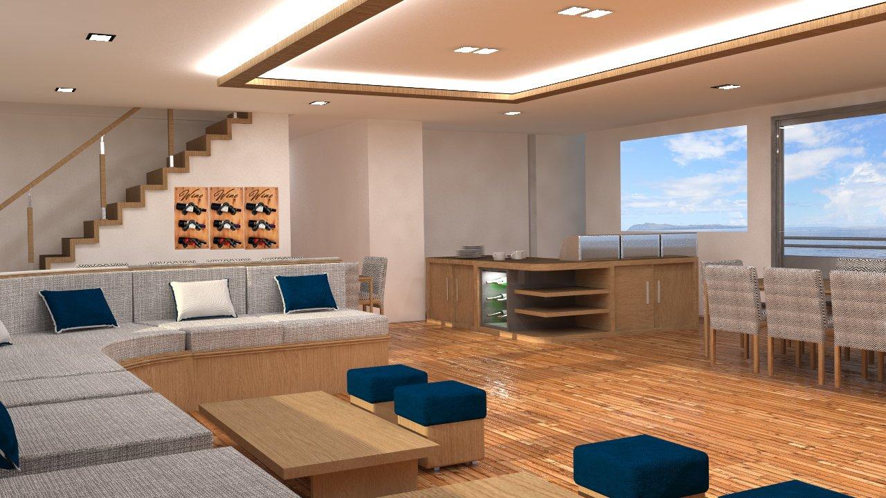 lounge infinity yacht