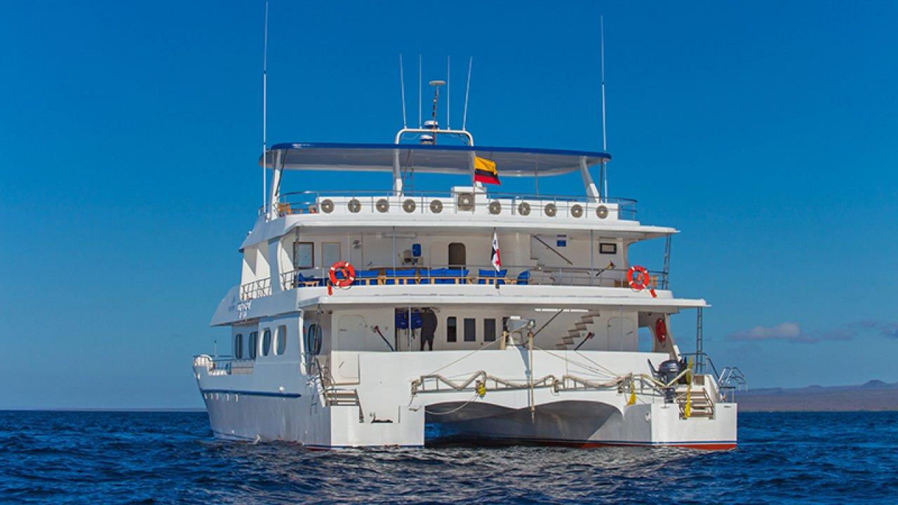 Back of the Tip Top ii Catamaran