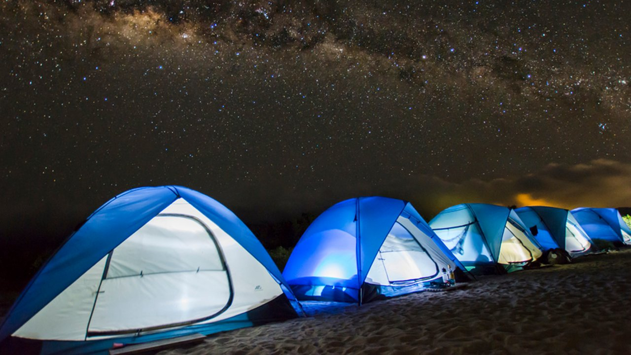 Exclusive camping in the Galápagos Islands