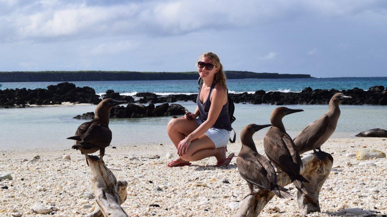 adventure cruise Galapagos