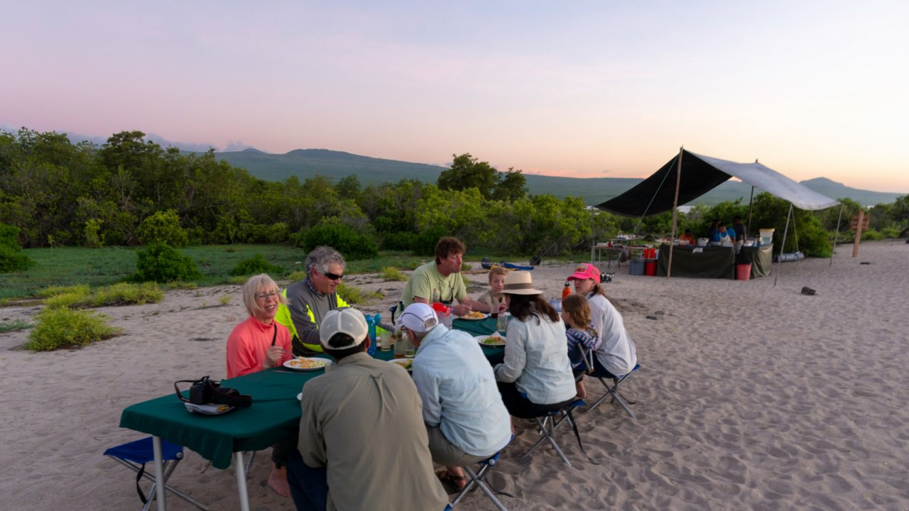 Camping tours in the Galapagos