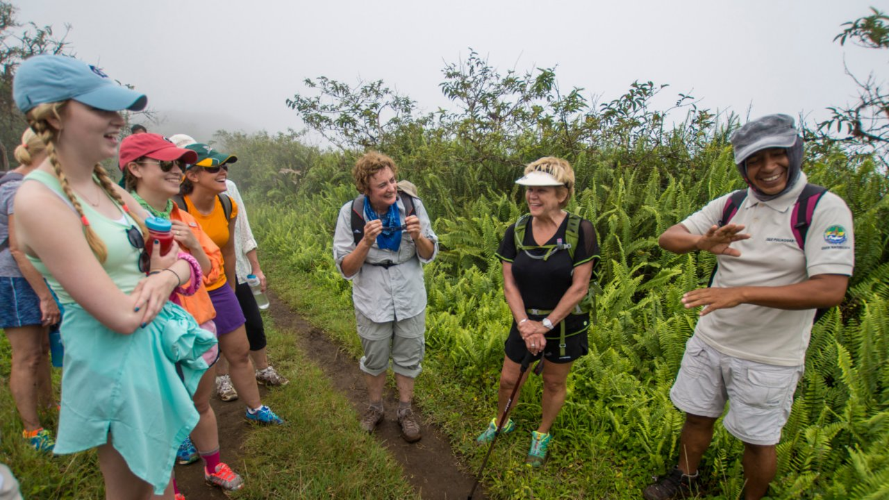 Guided Hiking Galápagos Islands