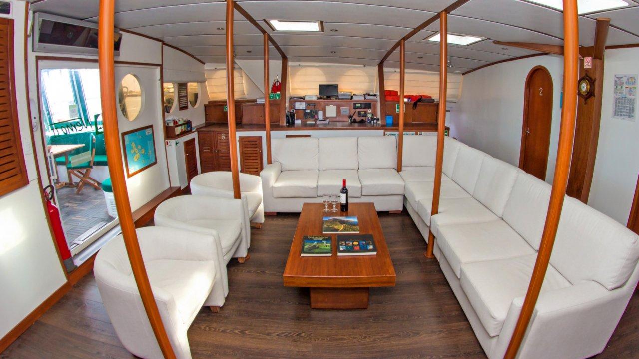 Galapagos sailing catamaran