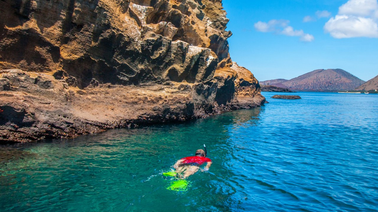 snorkeling opportunity in the Galapagos