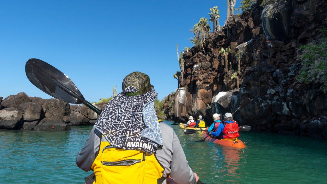paddle the Galapagos