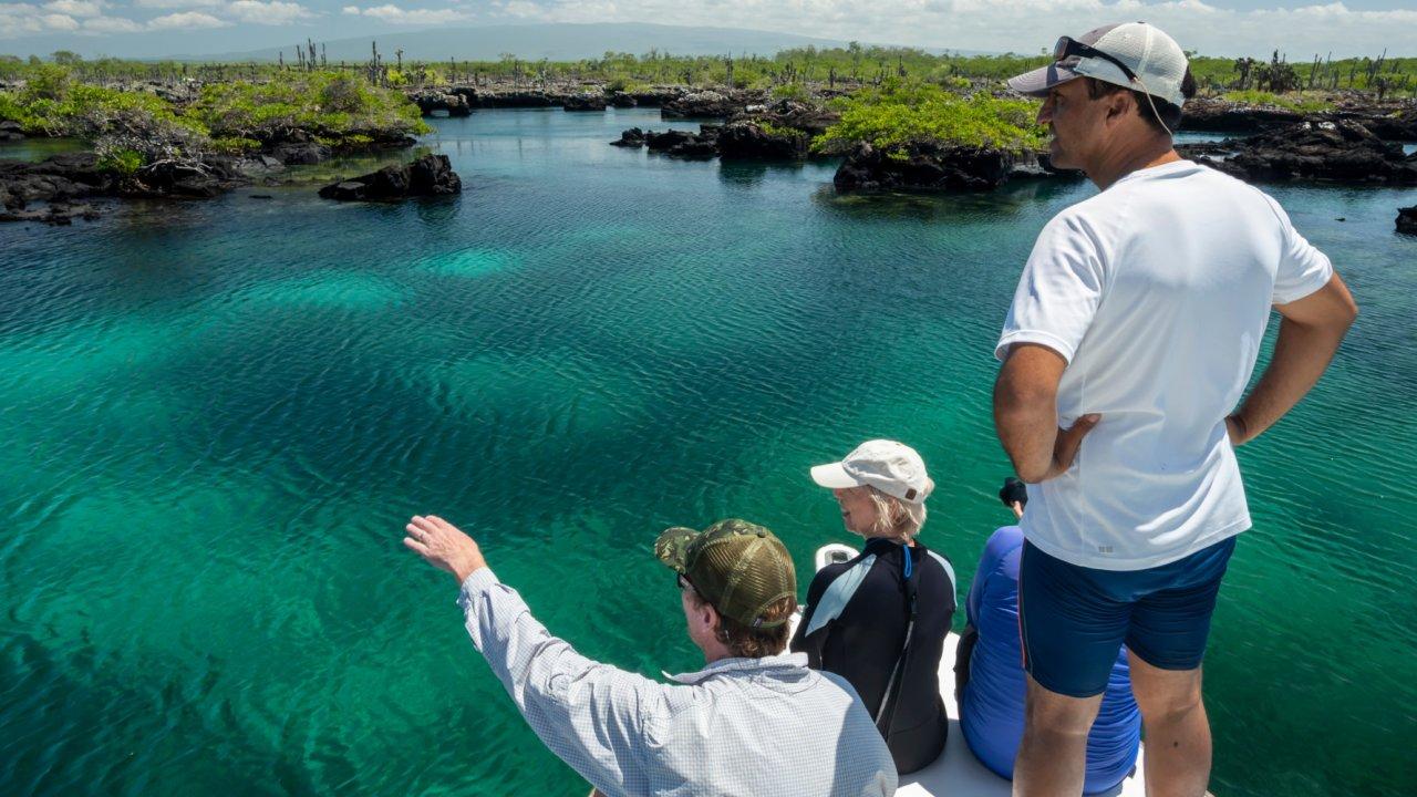 Galapagos archipelago waters