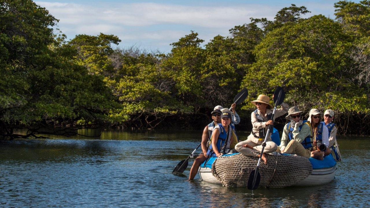 Zodiac wildlife viewing Galapagos