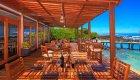 deck at red mangrove lodge galapagos