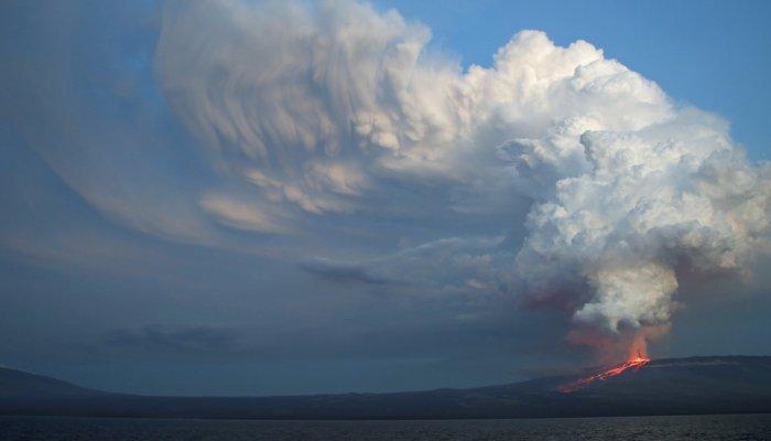 Galápagos Volcanic Activity
