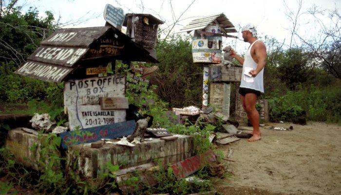 Galápagos Post Office Bay